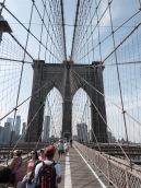 Un exploit pour nous, la traversée à pied du pont de Brooklyn