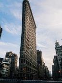 Une icône de New York, le Flatiron building